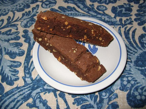 Chocolate Orange Biscotti. Photo by DebS #2