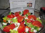 """dressed Up"" Greek-Style  Salad"