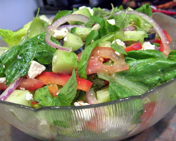 Greek Salad. Photo by Derf