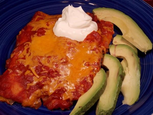 El Coyote Cafe Cheese Enchiladas Ranchera. Photo by Lavender Lynn