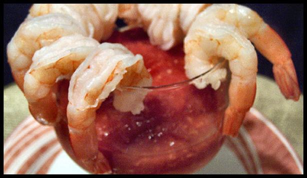 (Shrimp) Cocktail Sauce. Photo by NcMysteryShopper