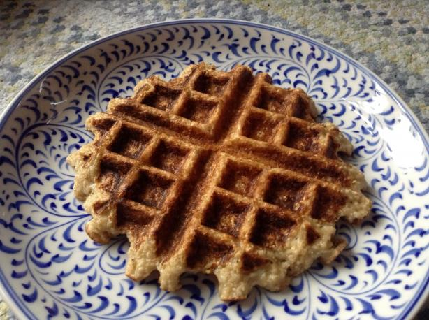 Oat Waffles. Photo by Flexitarian75