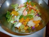 Prawn and Mandarin Salad