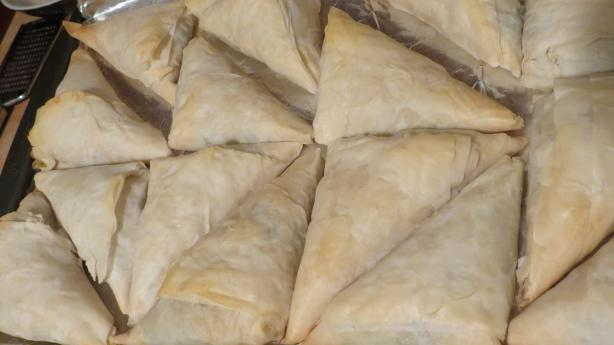 Vegan Spanakopita. Photo by Z Cooks