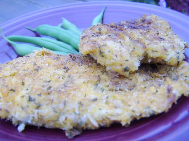 Chicken Schnitzel - Gluten-Free. Photo by LifeIsGood