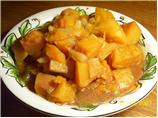Slow Cooked Squash and Pineapple