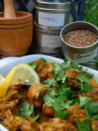 Masala Chicken. Photo by sassafrasnanc