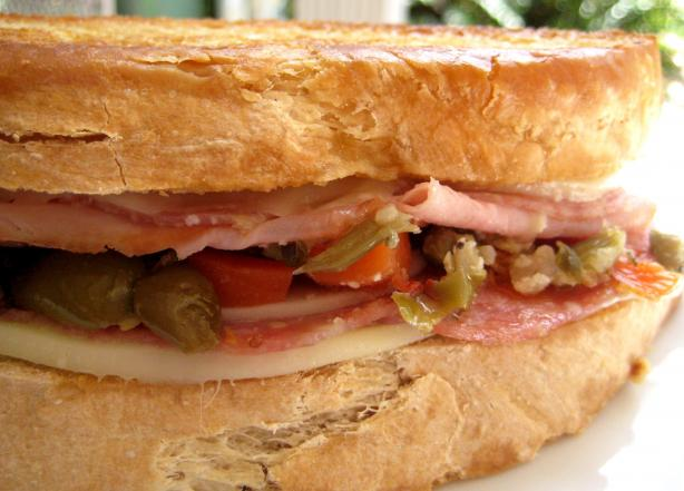 Muffuletta Panini. Photo by gailanng