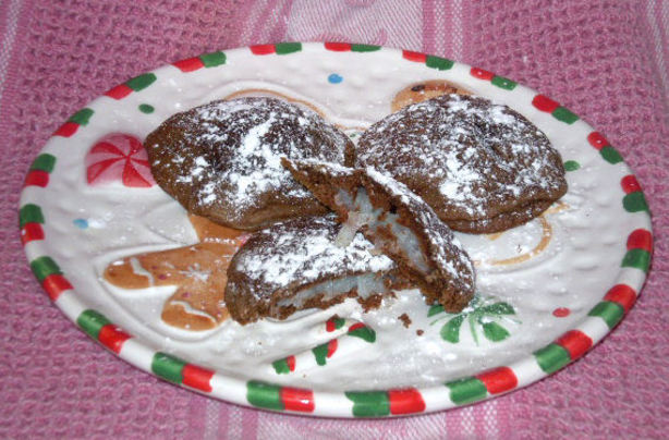 Coconut Filled Chocolate Cookies Aka Mounds Cookies. Photo by Karen=^..^=