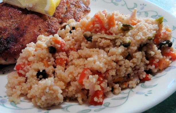 Mediterranean Couscous. Photo by PaulaG
