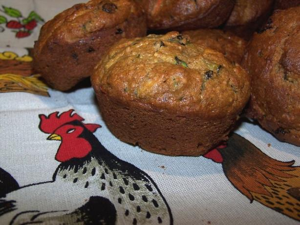 Gluten Free Zucchini Carrot Muffins. Photo by **Jubes**