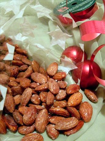 Maple Roasted Almonds With Fleur De Sel Les Fougeres. Photo by justcallmetoni
