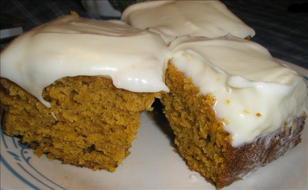 Pumpkin Bars(Paula Deen). Photo by Color Guard Mom