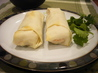 Golden Fried Salmon Spring Rolls With Lime Chili Mayo Sauce