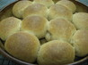 Whole-Wheat Parker House Rolls. Recipe by PaulaG