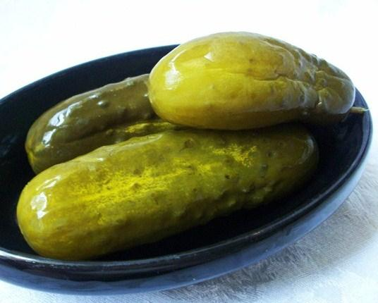 Good Eats Dill Pickles (From Alton Brown 2007). Photo by 2Bleu