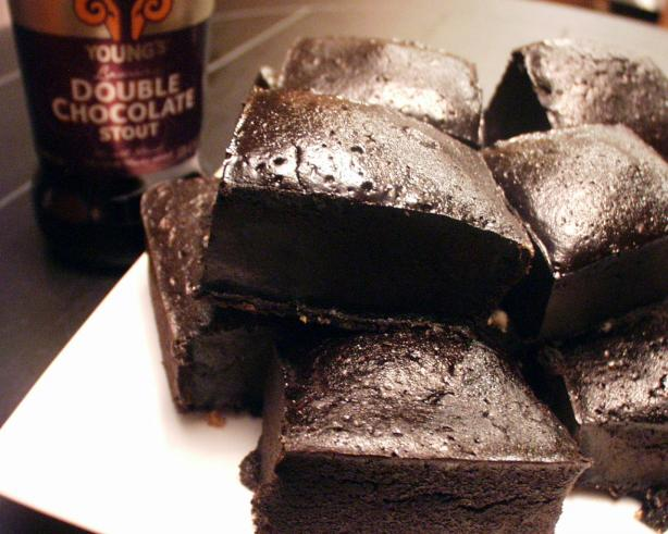Triple Chocolate Stout Beer Brownies. Photo by FLKeysJen
