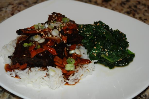 Korean Style Short Ribs (Crock Pot). Photo by carmenskitchen