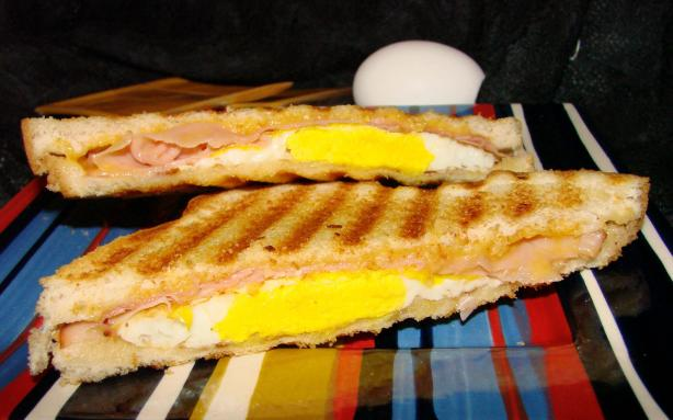 Grilled Breakfast Sandwich. Photo by Boomette