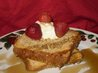 French Toast With a Crunchy Topping. Recipe by 2Bleu