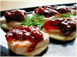 Dried Cranberry Chutney Appetizers