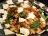 Eggplant, Tomato and Fresh Ricotta Farfalle. Recipe by MarraMamba