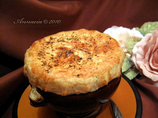 Ina Garten's Chicken Pot Pie. Photo by Annacia