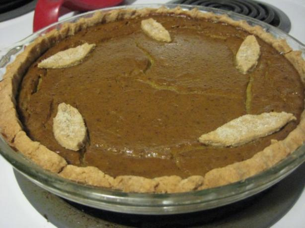 Vegan Pumpkin Pie and Crust. Photo by tendollarwine