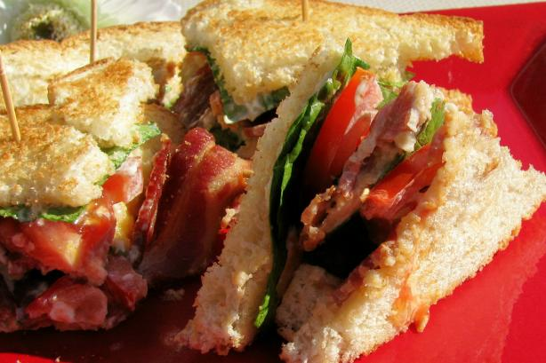 BLT Club Sandwich. Photo by lazyme