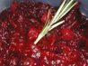 Honey-Lemon Cranberry Sauce With Rosemary. Recipe by brian48195