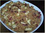 Apple Cranberry Pecan Stuffing