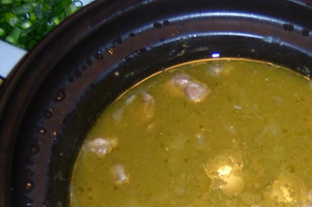Slow Cooker Pork Chili Verde. Photo by NELady