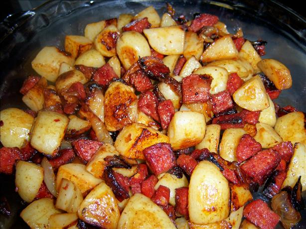 Pepperoni Potato Bake. Photo by **Mandy**