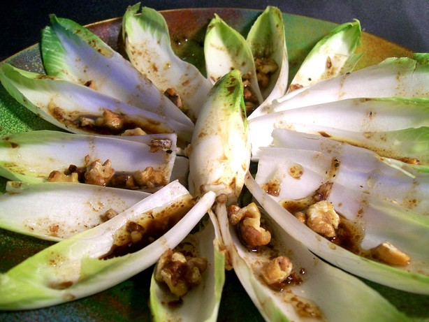 Endive Salad With Toasted Nuts. Photo by Sharon123