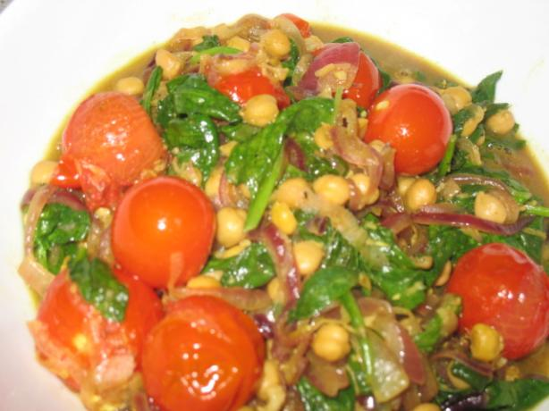 Chickpea Stew. Photo by Marmie's