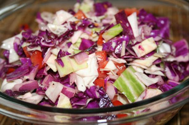 Sito&#39;s Lebanese Cabbage Salad. Photo by ~Nimz~
