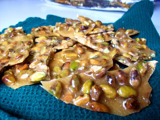 Pistachio Nut Brittle. Photo by little_wing