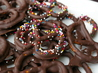 Chocolate-Covered Pretzels. Recipe by Kittencalskitchen