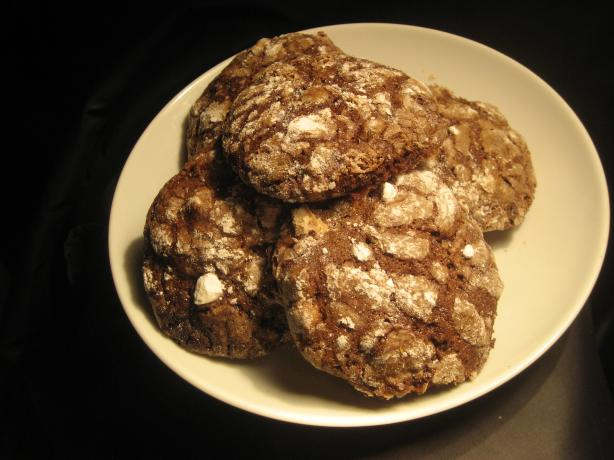 Chocolate Crackle-Top Biscuits. Photo by Pneuma
