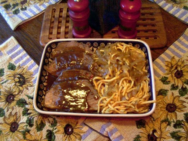 crock pot recipe for beef stroganoff
