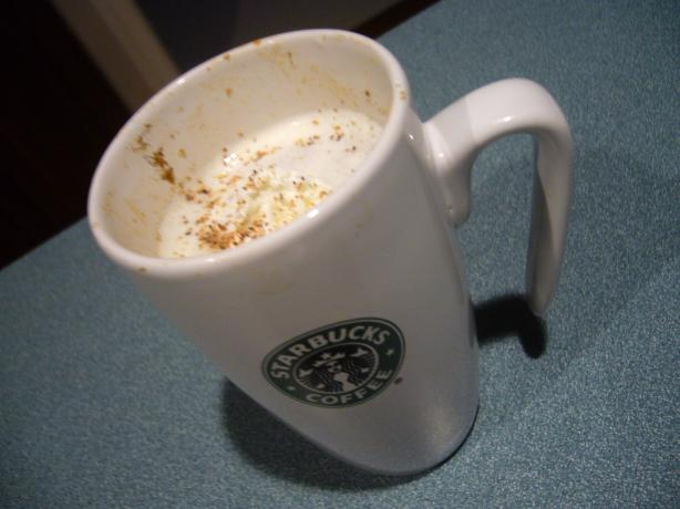 Starbucks Pumpkin Spice Latte (Copycat). Photo by Brandy Rae