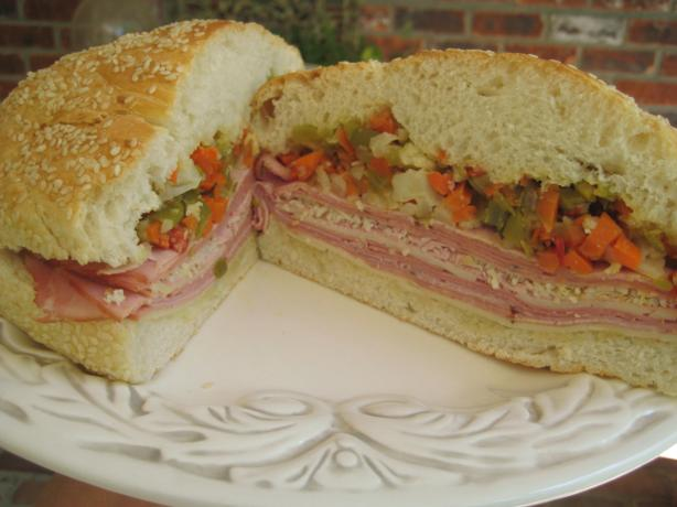 Muffuletta Sandwiches. Photo by gailanng