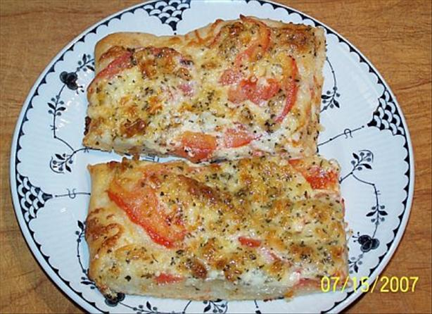 Tomato-Basil Squares. Photo by HisMonie
