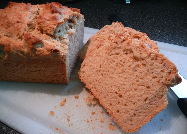 Beer Bread. Photo by Mikekey