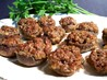 Pecan-Stuffed Mushrooms. Recipe by PaulaG