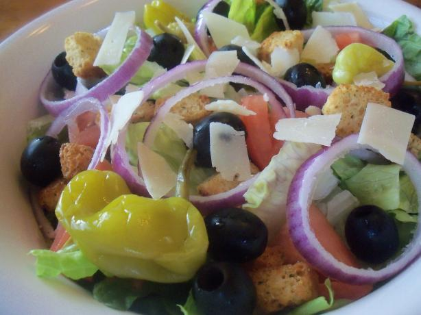 Olive Garden Salad (Copycat). Photo by *Parsley*