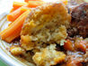 A Winter's Walk Beef and Carrot Stew With Herb Crusted Dumplings. Recipe by French Tart