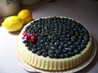 Fresh Blueberries With Mascarpone Cheese and Lemon Curd. Recipe by LaurietheLibrarian