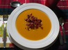 Sweet Potato Bacon and Onion Soup. Recipe by Luschka