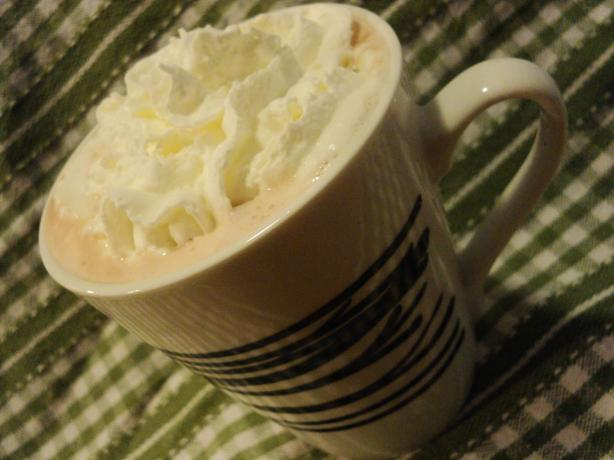 Caramel Hot Chocolate. Photo by Nif